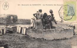 Djibouti / La Fontaine Des Somalis - Beau Cachet Maritime - Djibouti