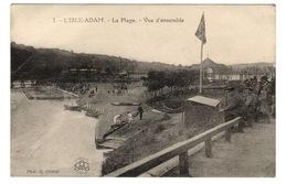 95 VAL D'OISE - L'ISLE ADAM La Plage, Vue D'ensemble - L'Isle Adam