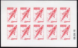 POLYNESIE. CARNET A USAGE COURANT EMBLEME POSTAL C1074-2  CD 06/09/16  VOIR DESCRIPTION. SCANS RECTO/VERSO - Booklets
