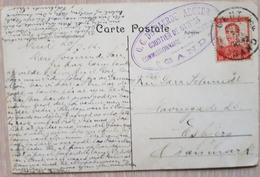 Belgique Belgium Gent 1912 Perfin Denmark Esbjerg - Belgium