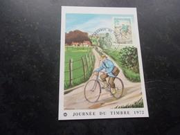 FRANCE (1972) Journée Du Timbre COGNAC - Cartes-Maximum