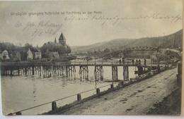 Frankreich Mastieres An Der Maas, Notbrücke, Feldpost 1916 Nach Alzey (64343) - Weltkrieg 1914-18