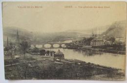 Belgien Givet Vallee De La Meuse, Landsturm Erfurt 1915 Nach Eisfeld (19553) - Weltkrieg 1914-18