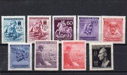 BOHEME ET MORAVIE 1942-3 ** - Bohême & Moravie