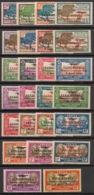 Nouvelle Calédonie - 1933 - Poste Aérienne PA N°Yv. 3 à 28 - Série Complète - Neuf * / MH VF - Unused Stamps