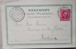 Sweden 1903 Helsingborg To Madeira - Sweden