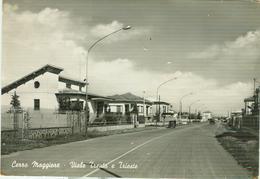 CERRO MAGGIORE (MILANO) - VIALE TRENTO E TRIESTE, B/N,VIAGGIATA 1966,ANIMATA E AUTO D'EPOCA, - Cinisello Balsamo