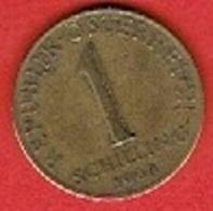 AUSTRIA  #  1 SCHILLING  FROM 1964 - Autriche