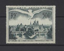 FRANCE .  YT  PA  N° 20  Neuf **  1947 - Poste Aérienne