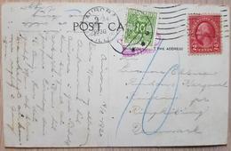 USA Denmark Rindum 1930 Taxee - United States