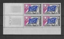 Coin Daté Service N° 28 De 1963 ** TTBE - Cote Y&T 2019 De 10 € - Coins Datés