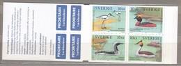 BIRDS SWEDEN Joint Issue Hong Kong Booklet 2003 Mi 2371-2374 MNH (**) #B49 - Non Classés