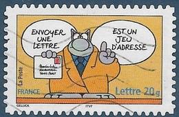 AA -- 58 (3827) Envoyer Une Lettre.- Le Chat - Sourires (2005) Oblitéré - France