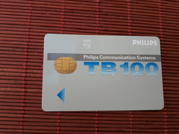 Philips Communication Systems Smart Card 2 Scans Very Rare - Unknown Origin
