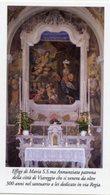 Viareggio - Santino MARIA S.S.MA ANNUNZIATA (Santuario In Via Regia) - PERFETTO P91 - Religione & Esoterismo