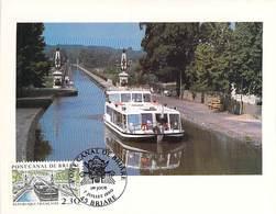 FRANCE CARTE MAXIMUM  NUM.YVERT 2658 PONT CANAL BRIARE - Maximum Cards