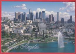 LOS ANGELES - MacArthur Park  Wilshire Boulevard -Photo J. Hill -SUP** 2 SCANS - Los Angeles
