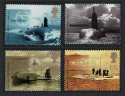 Great Britain Submarines 4v MNH SG#2202-2205 SC#1967-1970 - 1952-.... (Elisabeth II.)