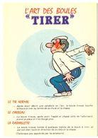 """L'art Des Boules """"tirer"""" 5  Illustrateur Inconnu - Pétanque"""