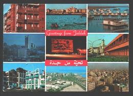 Jeddah - Greetings From Jeddah - Multiview - Arabie Saoudite