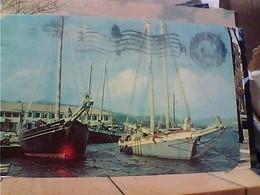 USA VIRGIN ISLANDS  St. Croix - Christiansted Harbor NAVE SHIP  VELA VB1965  HA7873 - Isole Vergini Americane