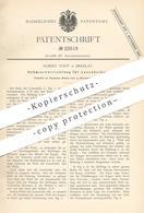 Original Patent - Albert Todt , Breslau , 1882 , Schmiervorrichtung Für Losscheiben | Losscheibe - Nabe | Welle !! - Historische Dokumente