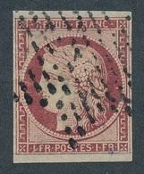 CI-101: FRANCE: Lot Avec N°6 Obl étoile, Replaqué, Beau D'aspect - 1849-1850 Ceres