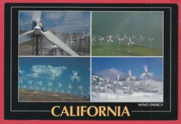 CALIFORNIA WIND ENERGY - Altamont , Tehachapi, San Gorgonio Passes-SUP** 2 SCANS - Los Angeles