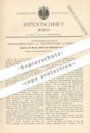 Original Patent - AG Düsseldorfer Eisen- U. Drahtindustrie , Düsseldorf , 1882 , Walzen , Richten , Aufwickeln Von Draht - Historische Dokumente