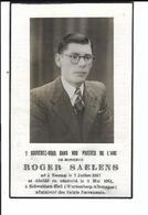 Roger Saelens Né Tournai 1917 Décédé En Captivité En Allemagne Le 8 Mais 1941 - Décès