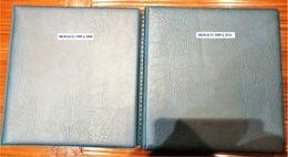 Classeur Lindner Monaco 1999 à 2016 Parfait état - Albums & Reliures