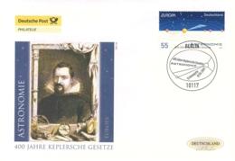920  Astromomie, Kepler, Europa CEPT: Env. 1er Jour D'Allemagne, 2009 – Mathematics, Astronomy. Mathématique, Physique - Astronomie