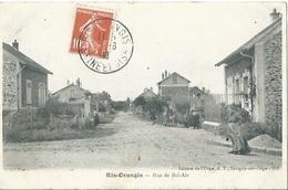 91 CPA  RIS ORANGIS Rue Bel Air - Ris Orangis