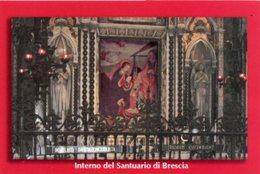 Brescia - Santino MARIA DELLE GRAZIE (Fotografia Interno Del Santuario) - PERFETTO P91 - Religione & Esoterismo