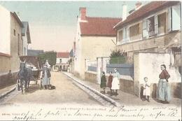 91 CPA VILLABE Chemin Du Bout Du Haut - Ris Orangis