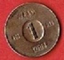 SWEDEN  #  1 ØRE FROM 1952 - Suède