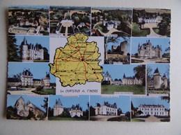 36 Châteaux De L'INDRE Pellevoisin Buzançais Le Tranger Villegongis Levroux Ecueille Vicq/Naon Villedieu Luçay Clion - Autres Communes