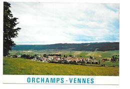 Orchamps - Vennes - Vue Générale - Dans Le Lointain Fuans Et Les Fournets - Autres Communes