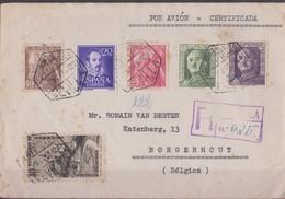 Lettre Espagne Scan R/V. - 1931-50 Lettres
