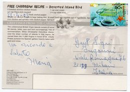 BRITISH VIRGIN ISLANDS - SANDY CAY/ WITH ANTIGUA E BARBUDA THEMATIC STAMP-REEF RANGER - Isole Vergine Britanniche