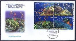 X369- Pakistan 2012. Wetlands Of Pakistan. The Arabian Sea Coral Reefs. See Life. Fish. Plants. - Fishes