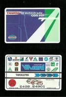 N. 1350 Cat. Viacard - Tamoil Da Euro 25.00  Publicenter - Italië