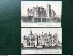 Gendron-Celles/-Château De Noisy-2 Cpa -1906 - Houyet