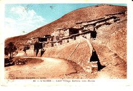 Algérie : L ' Aures : Village Berbere Vers Menaa. - Autres Villes