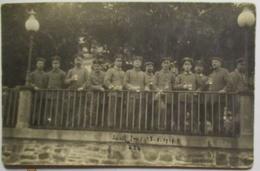Deutsche Soldaten Mit Bier, Fotokarte 1916 Aus Bad Ems (66180) - Weltkrieg 1914-18