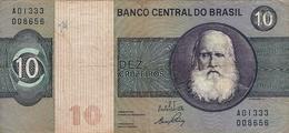 N.  1 Banconota Da 10  DEZ  CRUZEIROS   BRASILE  -  Anno 1995. - Brasil