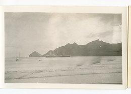 RARE 1935 30s Bateau VILLE DE VERDUN BAIE DE LAISHAC ? Scan Dos ILES MARQUISES - Schiffe