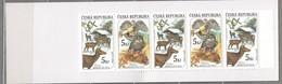 BIRDS Animals Czech 2000 Booklet MNH (**) #B58 - Aigles & Rapaces Diurnes
