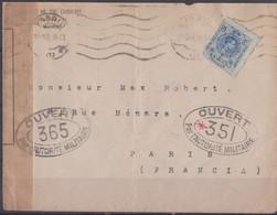 Lettre Espagne. - 1889-1931 Royaume: Alphonse XIII