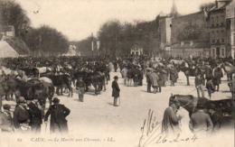 D14  CAEN  Le Marché Aux Chevaux - Caen